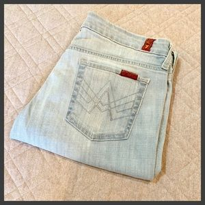 """7 For All Mankind Jeans - 🆕🦋 7FAM Crop """"A"""" Pocket Jeans, Size 30"""